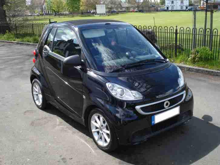 Smart Fortwo Cabrio Car From United Kingdom