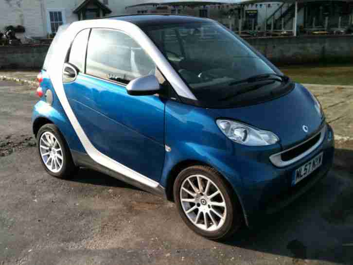 smart fortwo passion 71 auto 2007 car for sale. Black Bedroom Furniture Sets. Home Design Ideas