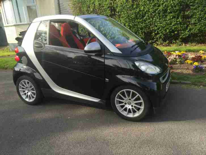 smart fortwo passion 71 auto black 2007 car for sale. Black Bedroom Furniture Sets. Home Design Ideas