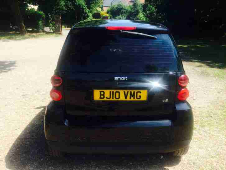 SMART FORTWO PASSION CDI 10 PLATE 88 MPG FREE TAX P/EX POSSIBLE 37K DIESEL £3895