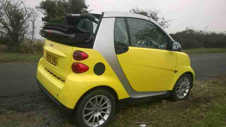 smart fortwo passion convertible 2009 car for sale. Black Bedroom Furniture Sets. Home Design Ideas