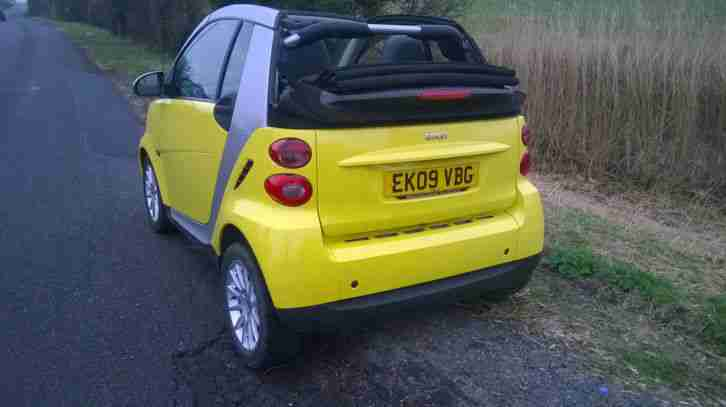 SMART FORTWO PASSION CONVERTIBLE 2009