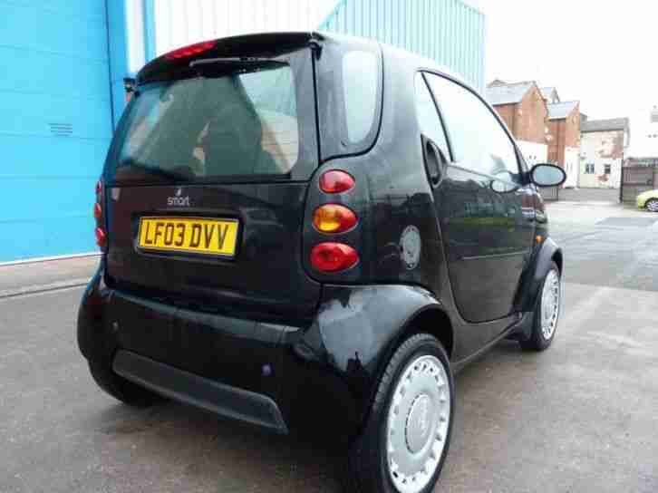 SMART FORTWO PURE 2003 Petrol Automatic in Black
