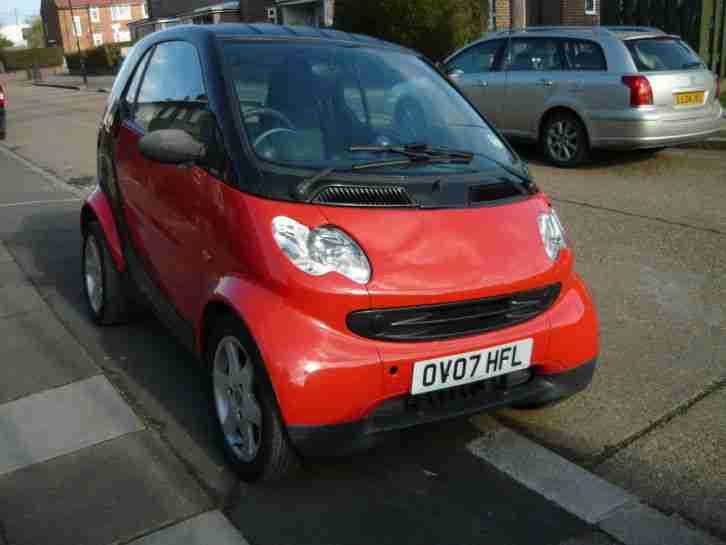 smart fortwo pure 2007 700cc petrol car for sale. Black Bedroom Furniture Sets. Home Design Ideas