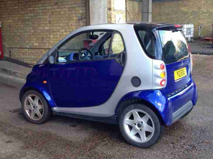 SMART PASSION CAR FORTWO 2001 LEFT HAND DRIVE Automatic/semi automatic.