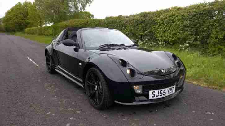 smart roadster brabus auto semi auto paddel shift black. Black Bedroom Furniture Sets. Home Design Ideas