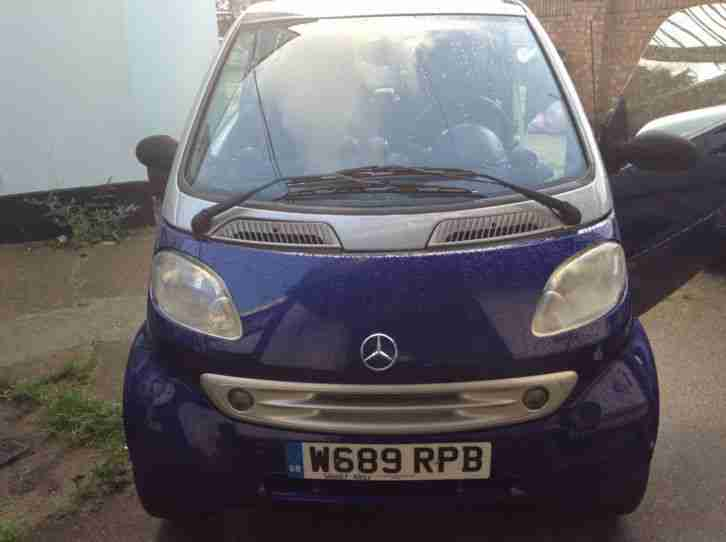 SMART by MERCEDES Benz - W450 2000 LHD ForTwo Perfect Runner!