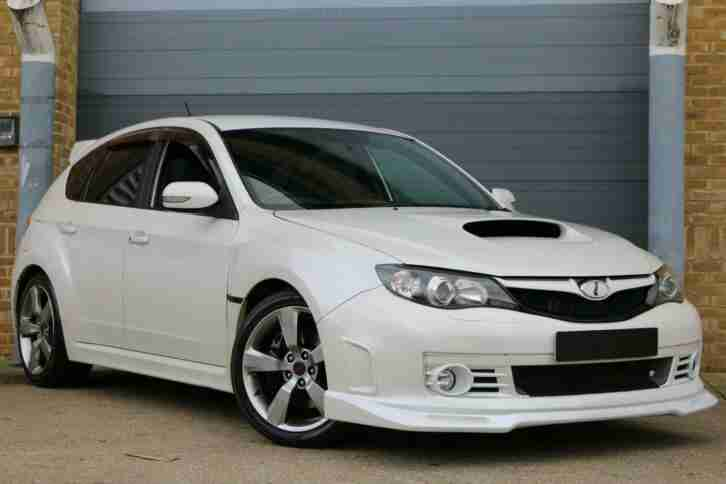 SOUGHT AFTER '''''STRONGER''' 2.0 WRX STi JDM HATCHBACK Pearl White STUNNING CAR