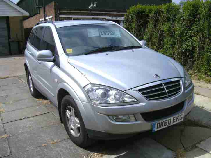 Ssangyong KYRON 2. Ssangyong car from United Kingdom