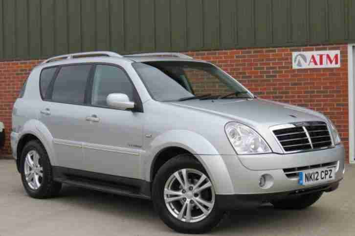 Ssangyong REXTON 2.7. Ssangyong car from United Kingdom