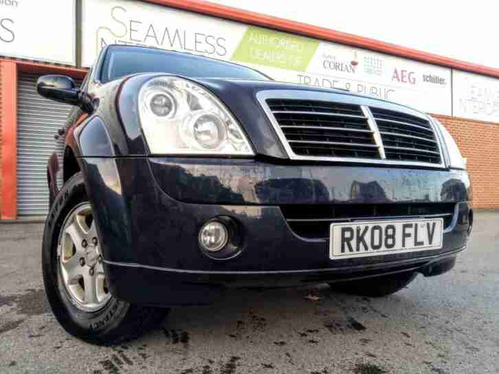 SSANGYONG REXTON 2.7TD S 4X4 2008 PERFECT WINTER 4X4 FULL HISTORY SAT NAV