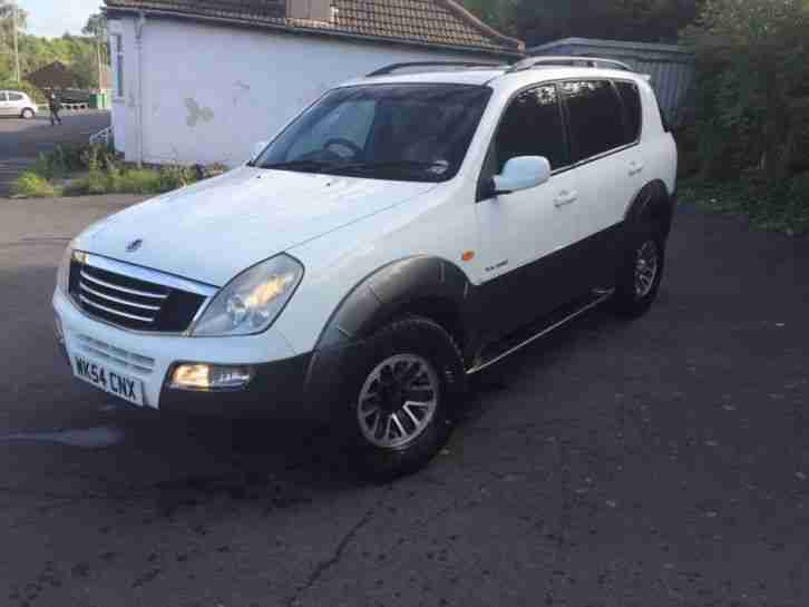 SSANGYONG REXTON 2.9 TDI 2005 MANUAL Breaking For Parts!!!