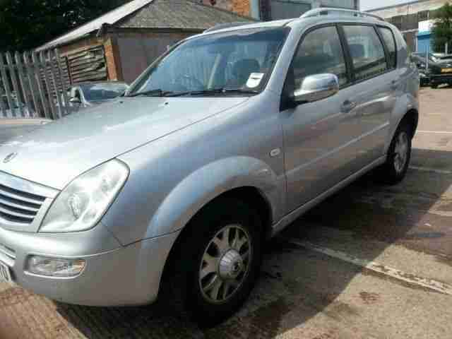 Ssangyong REXTON 27. Ssangyong car from United Kingdom
