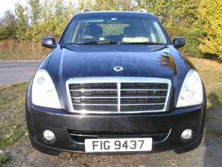 Ssangyong REXTON MK. Ssangyong car from United Kingdom
