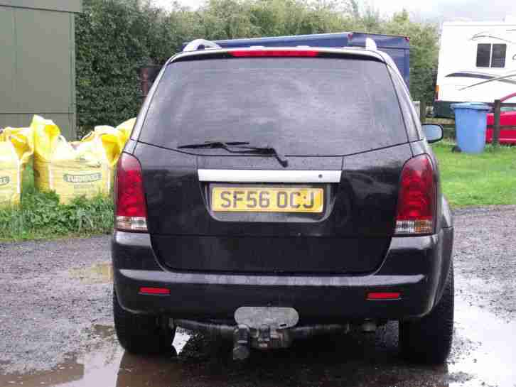 SSANGYONG REXTON on 56 plate