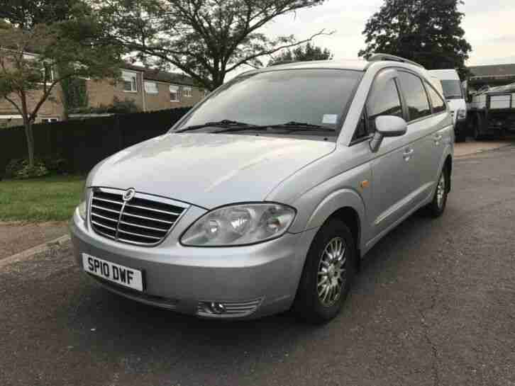 SSANGYONG RODIUS 2.7 XRDi ES AUTOMATIC Mercerdes Engine and Gearbox