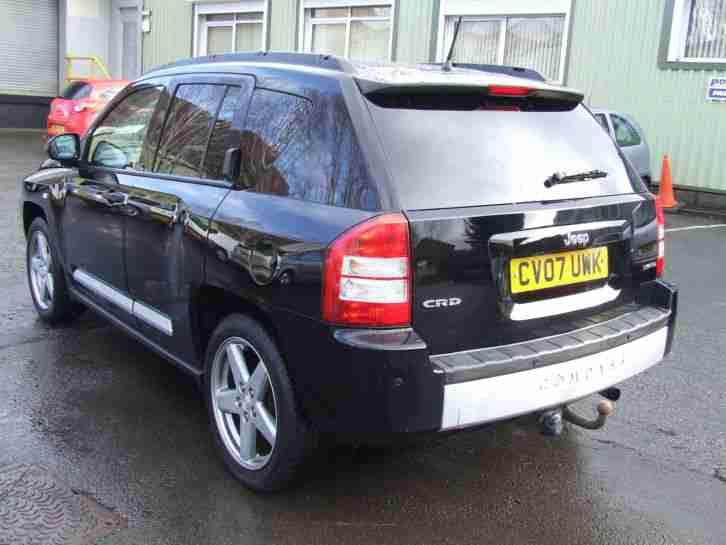 STUNNING 07 JEEP COMPASS LIMITED 2.0 DIESEL CRD, LOW MILES 74,000, PX TAKEN