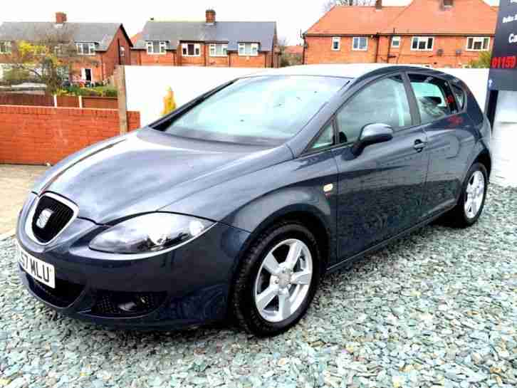**STUNNING** 2007 SEAT LEON REFERENCE SPORT TDI 6 SPEED MANUAL GREY