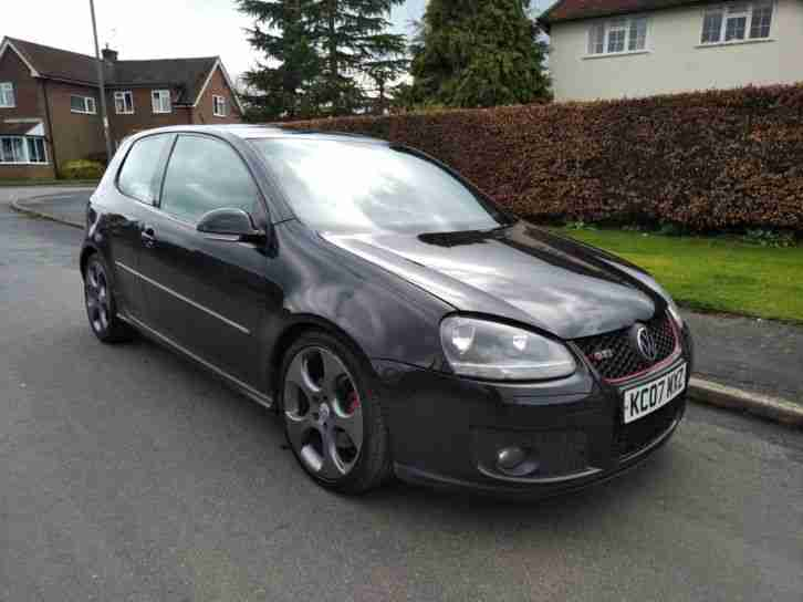 STUNNING BLACK 2007 VW GOLF GTI 280 BHP 2.0