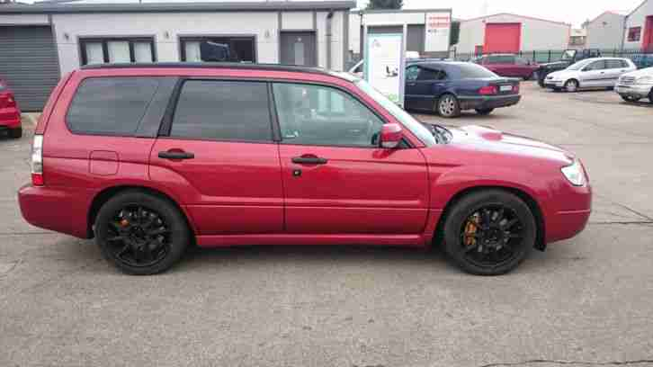 Subaru forester 2 5 turbo xte sti brembo remap tiptronic for Subaru forester paint job cost