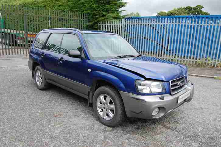 FORESTER 2003 SALVAGED DAMAGED
