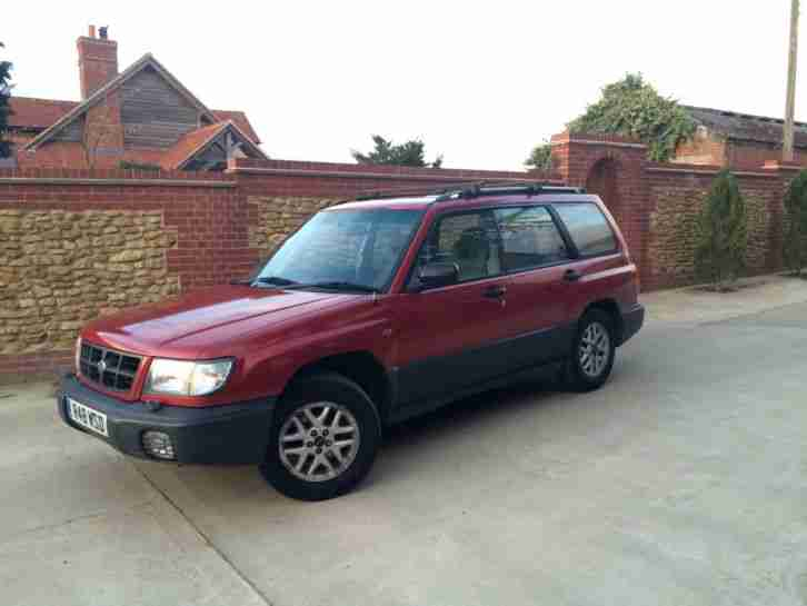subaru forester 4x4 ej20 ideal work van off road 4 wheel drive awd. Black Bedroom Furniture Sets. Home Design Ideas