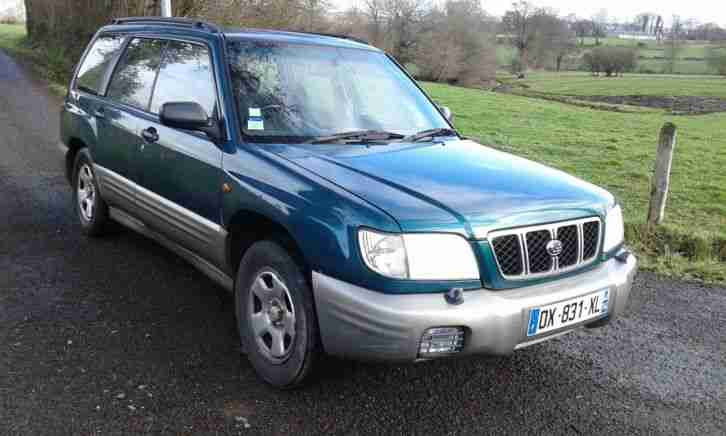 FORESTER 4x4 FRENCH REGISTERED NOT