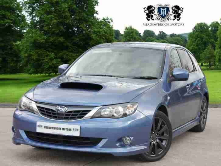 SUBARU IMPREZA 2.5 WRX 5d 227 BHP 2008 Petrol Manual in Blue