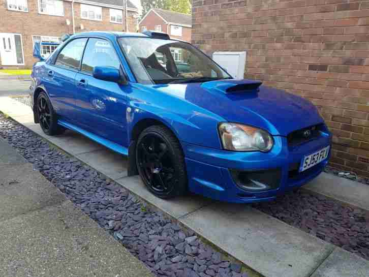 SUBARU IMPREZA STI 2004 370 BHP+ OVER 7K SPENT HPI CLEAR 89K FSH OWNED 8 YEAR