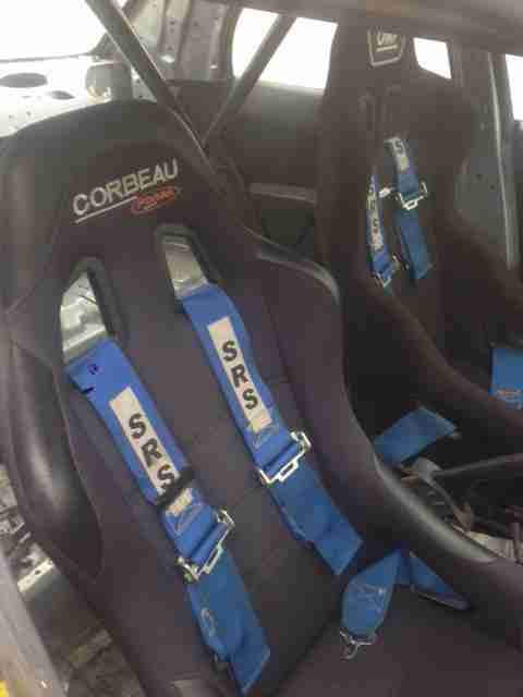SUBARU IMPREZA TRACK ,RACE,RALLY,CAR OMP ROLLCAGE, HARNESSES, BUCKET SEATS
