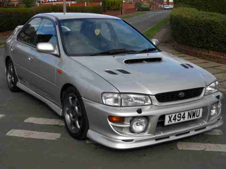IMPREZA TURBO 2000 UK CAR 320 BHP
