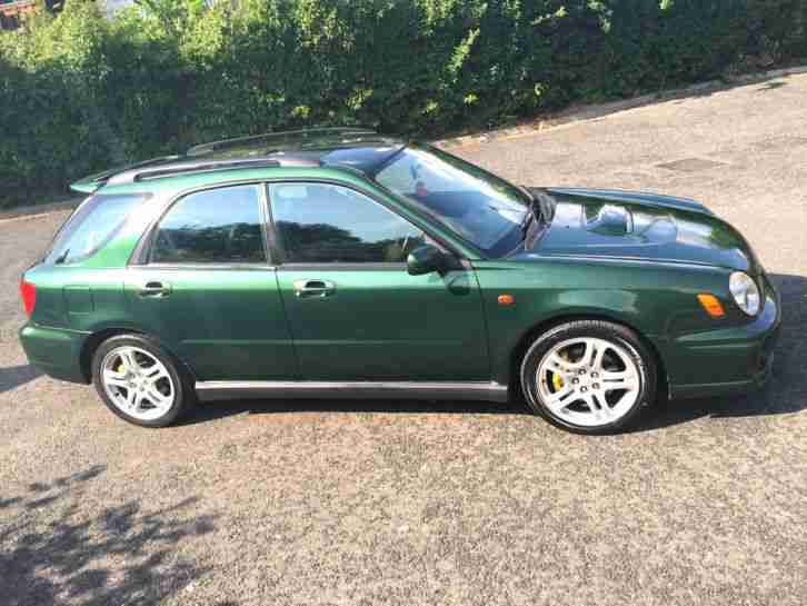SUBARU IMPREZA WRX 2002 WAGON BUGEYE PRODRIVE 4X4 ALLOYS AC MOT -GOOD CONDITION