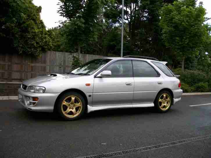 Subaru Impreza Wagon 2018 >> Subaru IMPREZA WRX STI VERSION 5 ESTATE WAGON. car for sale