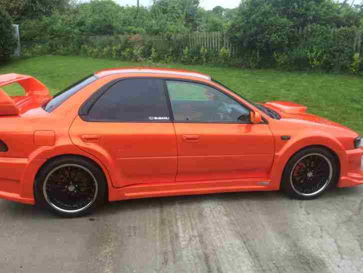SUBARU IMPREZA WRX TURBO SHOW CAR 1 YEAR MOT 6 MTH TAX LIMITED EDITION VVTI