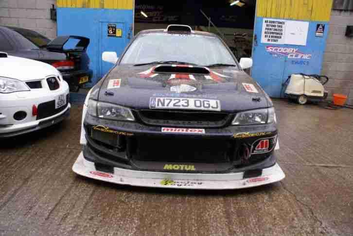 Subaru Impreza Wrx Track Race Car Msa Log Booked Without Engine Or