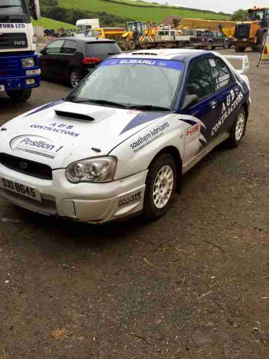 SUBARU IMPREZZA N10 B13 RALLY CAR