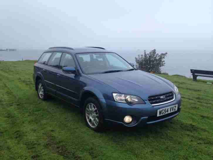 Subaru Legacy Outback Estate 4x4 2005 Lpg Conversion F