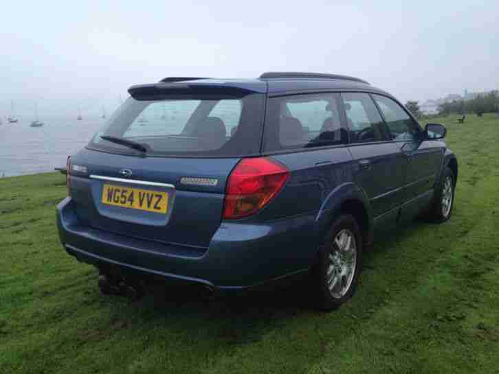 SUBARU LEGACY OUTBACK ESTATE 4x4, 2005, LPG CONVERSION, F/S/HISTORY