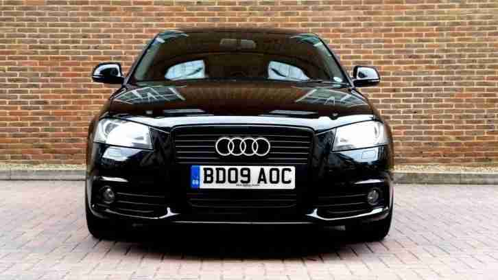 SUPERB BLACK A3 2.0 TFSI S LINE