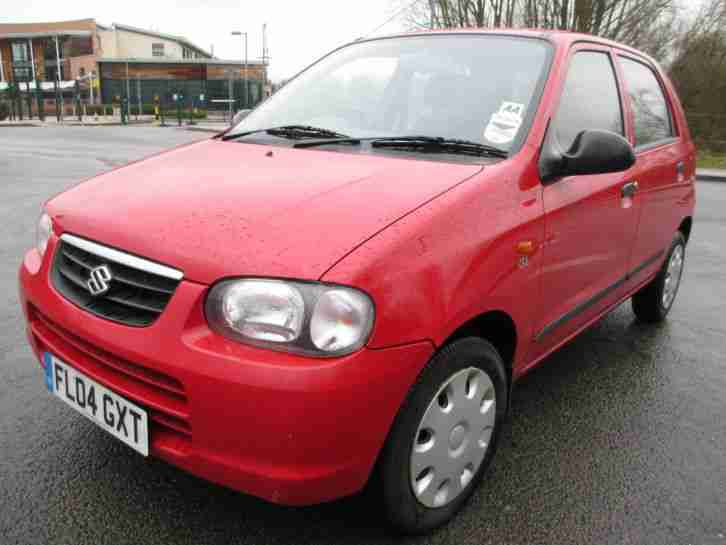 SUZUKI ALTO 1.1 GL 2004 REG Genuine 15,000 miles only Full Service History Red