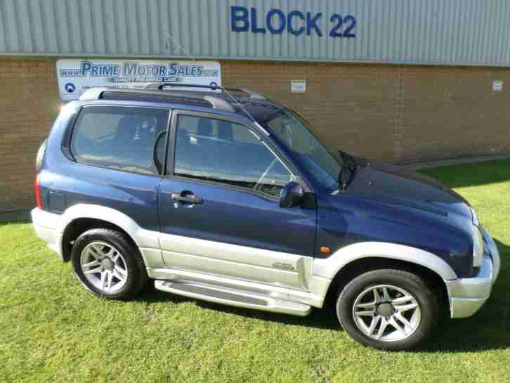 GRAND VITARA 1.6 SE,3DR,CAT EYE BLUE