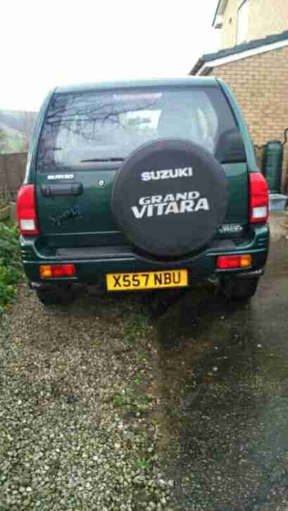 SUZUKI GRAND VITARA 2 ltr Spare or repair