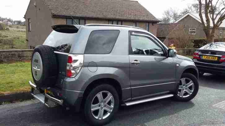 Suzuki Grand Vitara Vvt Grey 4x4 3 Door Low Mileage