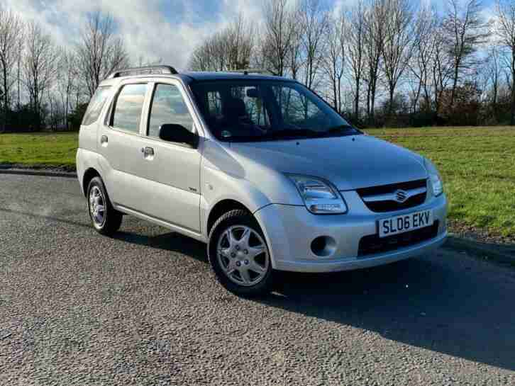 SUZUKI IGNIS 1.3 VVT GL 5 DOOR HATCHBACK SILVER MANUAL PETROL + ROOF RAILS