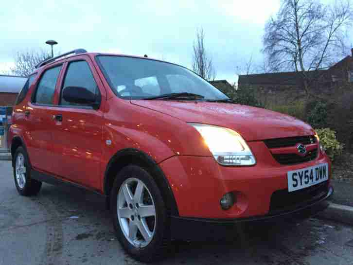 SUZUKI IGNIS RED 1.5 VVT 4 GRIP RELIABLE 4X4 OFF ROAD WITH 7 MONTH LONG MOT!