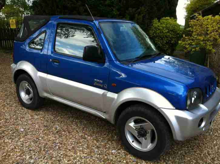 Suzuki Jimny Soft Top New Roof Service History Mot 2016 Car For Sale