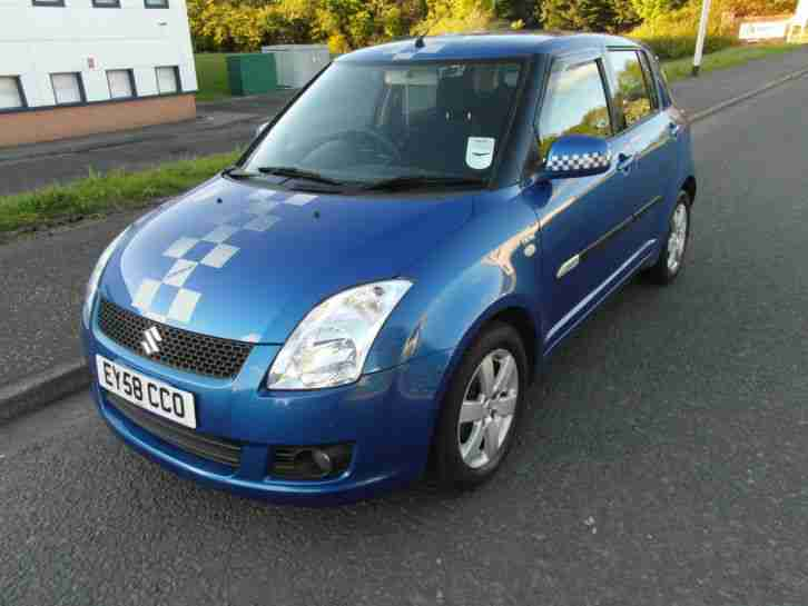 suzuki swift 1 3 ddis 2008 30 tax 65 mpg car for sale. Black Bedroom Furniture Sets. Home Design Ideas