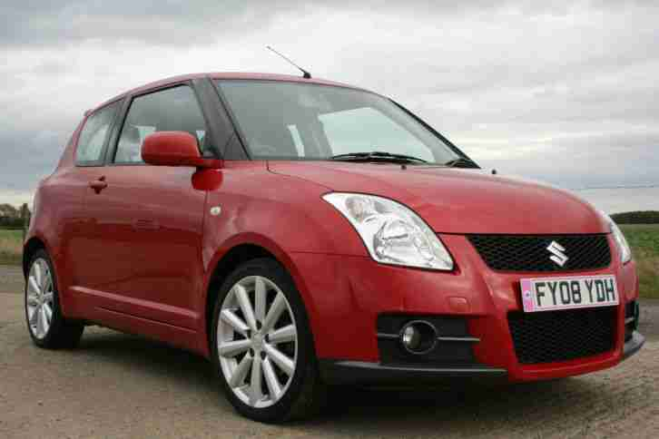 suzuki swift sport 1 6 vvt 2008 car for sale. Black Bedroom Furniture Sets. Home Design Ideas
