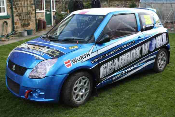 suzuki swift sport rallycross car 1 6 2009 track car rally. Black Bedroom Furniture Sets. Home Design Ideas