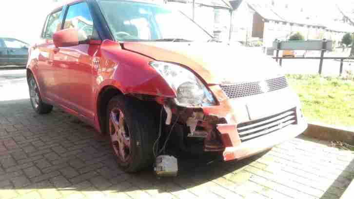 SUZUKI SWIFT VVT 2005 1500cc (spares or repair) Unrecorded